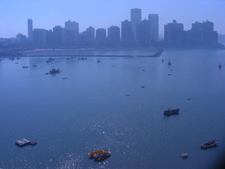 a hazy blueview